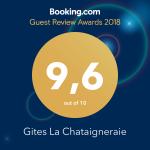Booking review gites social_media 2018