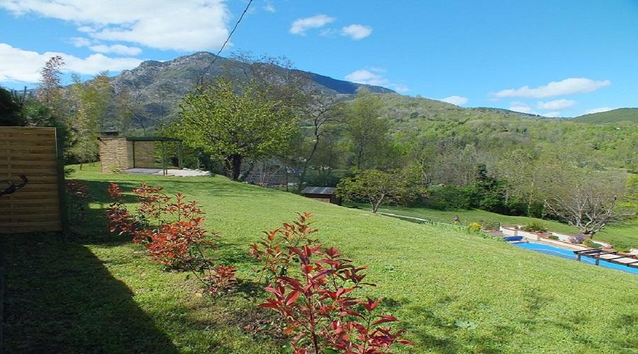 La Capsole's garden