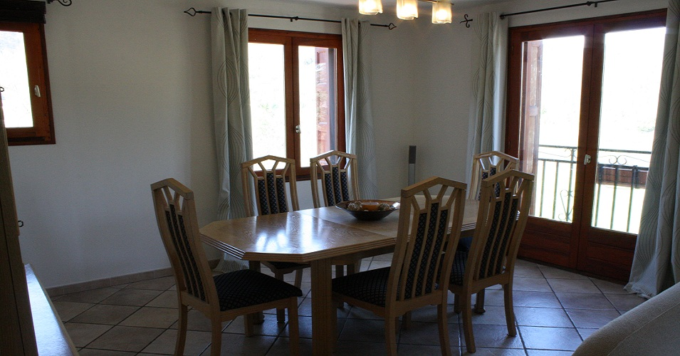 La Capsole Dining room